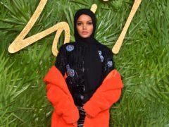 Halima Aden made her modelling debut at New York Fashion Week in 2017, aged 19 (Matt Crossick/PA)