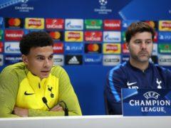 Mauricio Pochettino, right, has compared Dele Alli, left, to Diego Maradona (Adam Davy/PA)