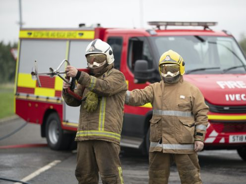 The Scottish Fire and Rescue Service believes a doubling of house fire deaths is linked to the coronavirus lockdown (Jane Barlow/PA)
