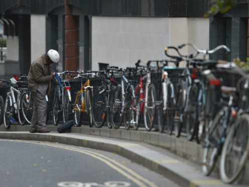 MSPs want to see further investment in 'active travel' (Nick Ansell/PA)
