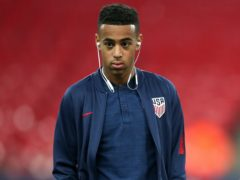 Tyler Adams says the United States plan to make a gesture of support to racial justice ahead of Thursday's friendly in Wales (Nick Potts/PA)