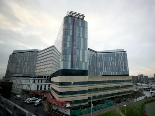 Queen Elizabeth University Hospital is among the places participating in the trial (Jane Barlow/PA)