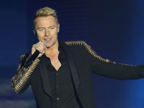 Former Boyzone star Ronan Keating opened up about his mental health struggles (Niall Carson/PA)