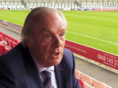 Gordon Taylor will step down at the end of the season (Andy Hampson/PA)