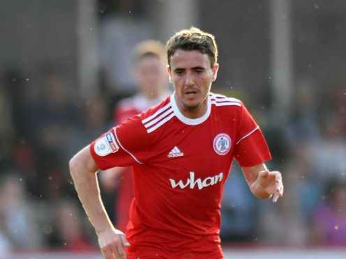 Accrington winger Sean McConville is hoping to play on Tuesday night after the club appealed against his red card at the weekend (Anthony Devlin/PA)