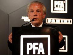 Gordon Taylor said 'immediate steps' needed to be taken (Steven Paston/PA)