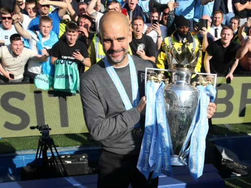 Pep Guardiola is hungry for more silverware (Nick Potts/PA)
