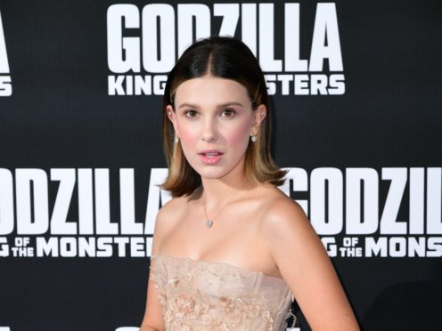 """Stranger Things star Millie Bobby Brown called Alzheimer's'""""evil' as she paid a touching tribute to her late grandmother (Ian West/PA)"""