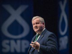 Ian Blackford will tell SNP members to 'keep the heid' (Jane Barlow/PA)