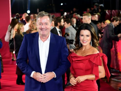 Piers Morgan and Susanna Reid (Ian West/PA)