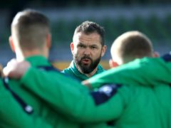 Andy Farrell was not impressed with Ireland's performance against Georgia (Donall Farmer/PA)