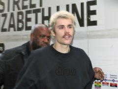 Justin Bieber (Yui Mok/PA)