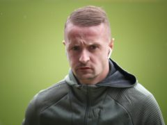 Leigh Griffiths has apologised to Northern Ireland striker Kyle Lafferty (Jane Barlow/PA)