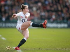 Emily Scarratt starred as England beat Italy to secure the Grand Slam (Adam Davy/PA)