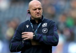Scotland head coach Gregor Townsend has made five changes ahead of the Nations Cup match with France (Jane Barlow/PA Images).