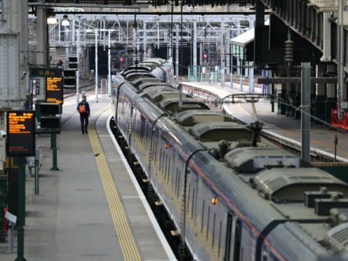 Railway skills warning (Andrew Milligan/PA)