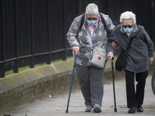 'Excellent news' that Pfizer is 94% effective in older patients – experts (Victoria Jones/PA)