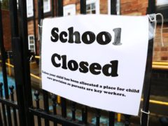 School closure (Tim Goode/PA)