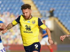 Matty Taylor could return for Oxford's derby clash with Swindon (John Walton/PA)