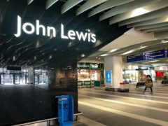 The John Lewis Partnership is to axe up to 1,500 jobs (Jacob King/PA)