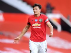 Manchester United captain Harry Maguire admits it is sometimes difficult to ignore the criticism levelled at the club (Michael Regan/NMC Pool)