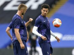 Eric Dier, left, expects Dele Alli, right, to put in the hard work (Will Oliver/PA)