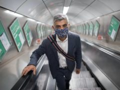 London Mayor Sadiq Khan claims he succeeded in 'killing off the very worst Government proposals' as the TfL bailout was agreed (Stefan Rousseau/PA)