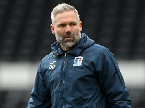 Barrow manager David Dunn is preparing to face Oldham (Mike Egerton/PA)