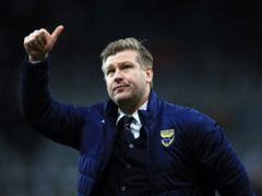 Karl Robinson was pleased with his side's display (Owen Humphreys/PA)