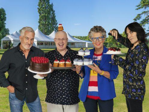The Great British Bake Off team Paul Hollywood, Matt Lucas, Prue Leith and Noel Fielding (C4/Love Productions/Mark Bourdillon)