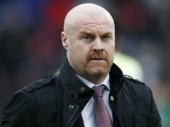 Sean Dyche's Burnley are yet to pick up a point at home this season (Martin Rickett/PA)