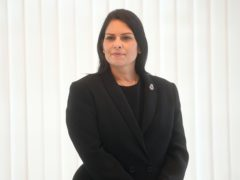 Home Secretary Priti Patel has raised the UK's terror threat level to 'severe' (Victoria Jones/PA).