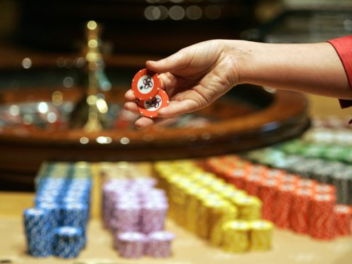 People are invited to sign the Chips Are Down: Save Our Casinos, Save Our Jobs petition (Andrew Milligan/PA)