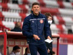 Stevenage manager Alex Revell (John Walton/PA)