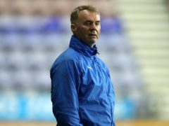John Sheridan will be in charge of his first home game for Swindon (Martin Rickett/PA)