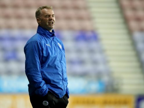 John Sheridan saw his Wigan side held by Bristol Rovers (Martin Rickett/PA).