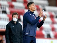Stevenage manager Alex Revell has some selection concerns ahead of the visit of Bolton (John Walton/PA)