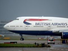 British Airways passengers will be tested for coronavirus in a bid to prove the UK's quarantine policy should be scrapped (Steve Parsons/PA)