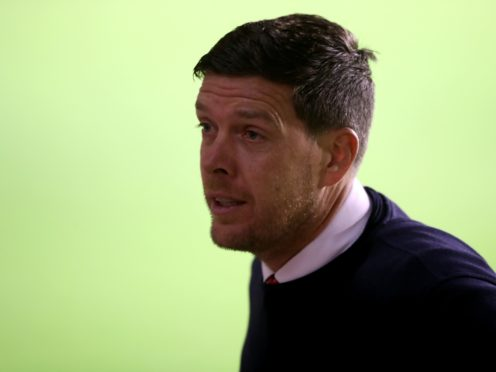 Darrell Clarke admitted Walsall had 'got away with one' (Nick Potts/PA)