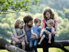 Zoe Powell and three of her children died in the crash (Sarah Mak Photography/PA)