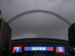 Southgate admits the Iceland game may have to be moved away from Wembley (Toby Melville/PA)