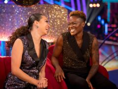 Nicola Adams and Katya Jones (BBC)