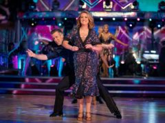 Jacqui Smith and Anton Du Beke (BBC)
