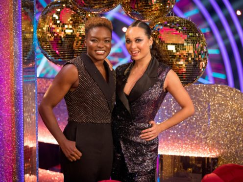 Nicola Adams and Katya Jones (BBC/PA)