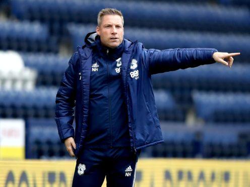 Cardiff City manager Neil Harris (Martin Rickett/PA)