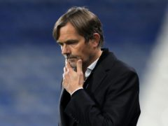 Phillip Cocu is under pressure at Derby (Mike Egerton/PA)