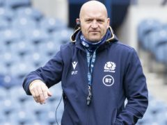 Scotland head coach Gregor Townsend is eyeing a win over France to give his side a shot at Nations Cup glory (Jane Barlow/PA Images).