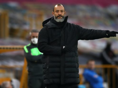 Nuno Espirito Santo dismissed suggestions Wolves have an advantage over Arsenal (Nick Potts/PA)