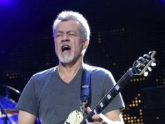 Eddie Van Halen's son has paid a touching tribute to the late rock great, saying it has been 'really hard' following his death (Greg Allen/Invision/AP, File)