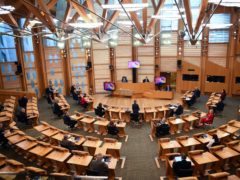 The Scottish Parliament supported plans for new defamation laws that MSPs suggest with shift the balance between freedom of speech and protecting a person's reputation (Andy Buchanan/PA)